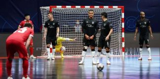 Benfica despede-se da Liga dos Campeões de Futsal