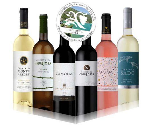 pack de Vinhos da Península de Setúbal