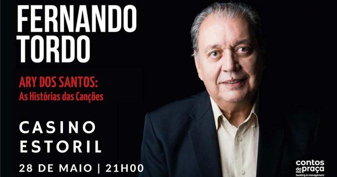 Fernando Tordo no Auditório do Casino Estoril