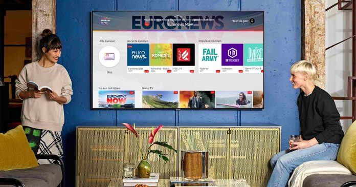 Samsung TV Plus conteúdos