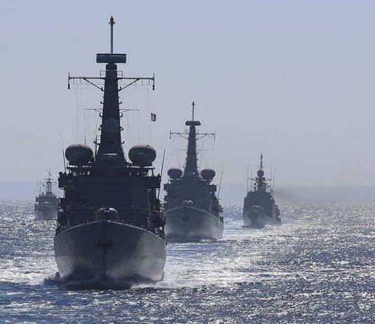Marinha exercício multinacional