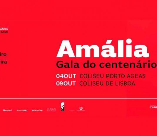 Gala do centenário de Amália Rodrigues