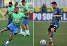 Jogo Brasil e Argentina suspenso