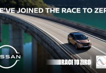 Nissan na Corrida para o Zero