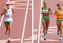 Odete Fiúza nos Jogos Paralímpicos