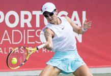 Zheng e Tan no Portugal Ladies Open