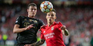 Benfica perdeu com o Bayern