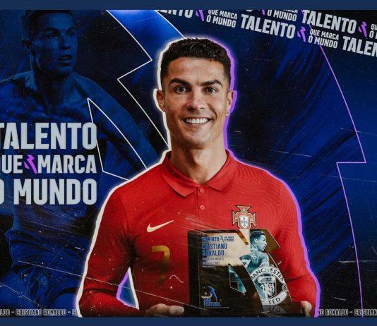 Cristiano Ronaldo com Talento que Marca o Mundo