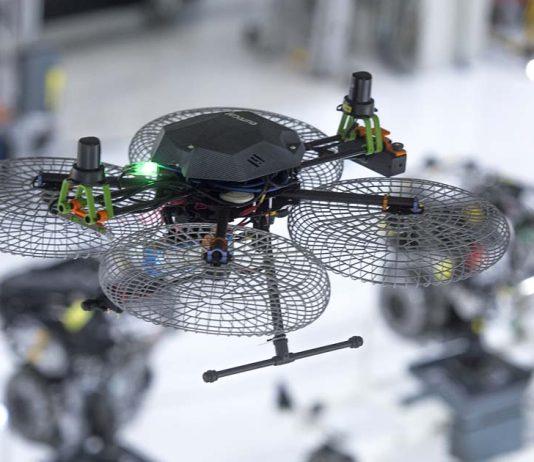 Drones na fábrica do futuro