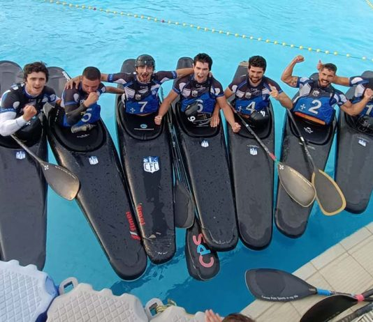 Clube Fluvial de Coimbra em Kayak Polo
