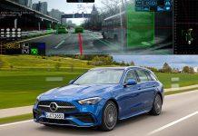 câmaras LG no novo Mercedes