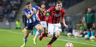 Porto venceu o Milan