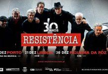 Resistência nos concertos dos 30 anos