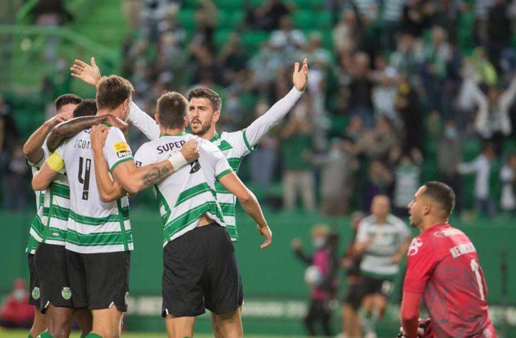 Sporting venceu o Moreirense